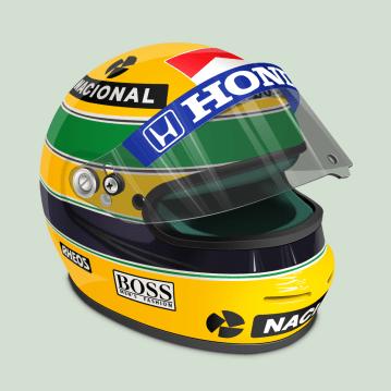 40 - Ayrton Senna