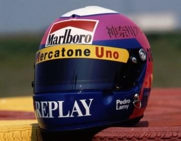 Pedro Lamy - 1995 Helmet