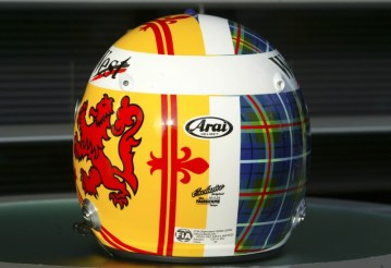 David Coulthard - Special Edition Helmet