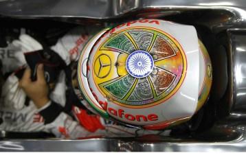 Lewis Hamilton - 2012 Indian GP