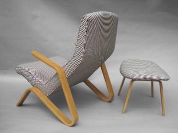 Grasshopper chair, Eero saarinen, 1948