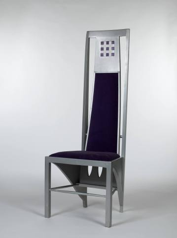 High-backed chair, Mackintosh, 1903
