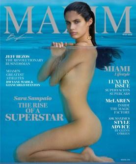 Sara Sampaio - Maxim Cover