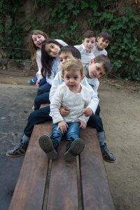 foto sesion familia exteriores 2 Lightangel Pedro J Justicia Santa Coloma Gramenet Barcelona - Obra profesional -