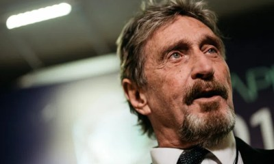 John McAfee Arrested in Spain on Charges of Tax Evasion