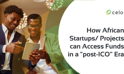 "How African Startups/Projects Can Access Funds In A ""Post-ico"" Era"