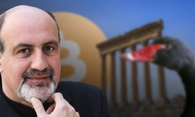 Author of The Black Swan plans on selling is Bitcoin due to high volatility