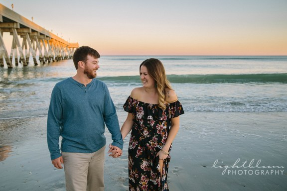 Wrightsville Beach Engagement Photography