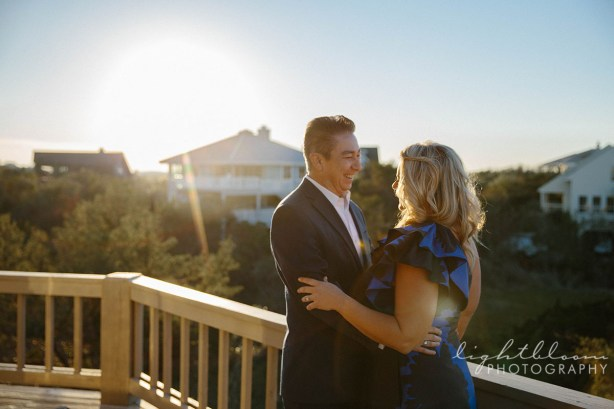 Figure Eight Island Wedding Engagement Photography