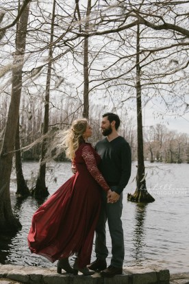 Greenfield Lake Engagement Photography Wilmington NC Wedding Photographer