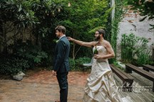 First Look Fake Out Wedding Photography