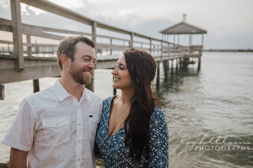 Wrightsville Beach Engagement Photographer