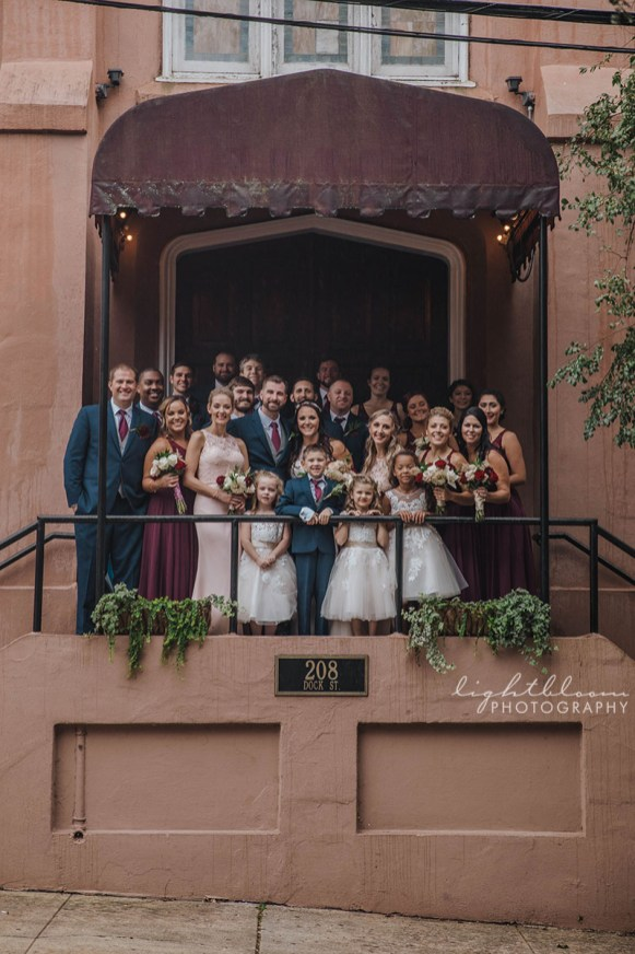 Saint Thomas Preservation Hall Wedding Photographer