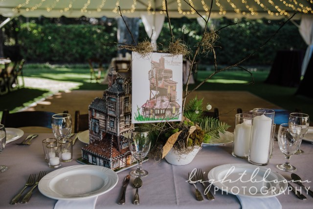 Harry Potter Theme Wedding Photographer
