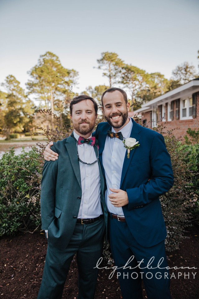 Wilmington NC Backyard Wedding Photographer