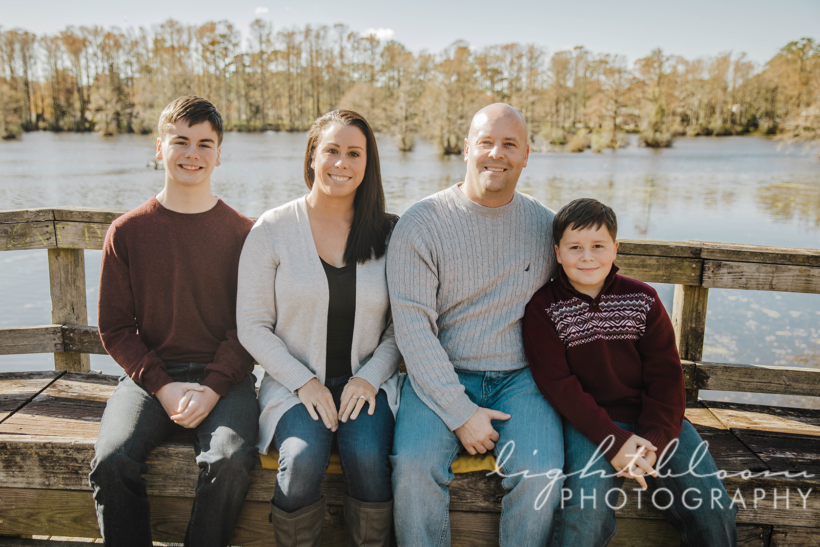 Greenfield Lake Family Photographer