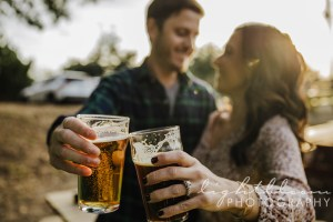 Waterline Brewery Engagement Photographer