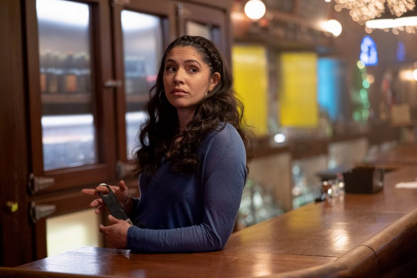 """CHICAGO FIRE -- """"A Couple Hundred Degrees"""" Episode 911 -- Pictured: Miranda Rae Mayo as Stella Kidd -- (Photo by: Adrian S. Burrows Sr./NBC)"""