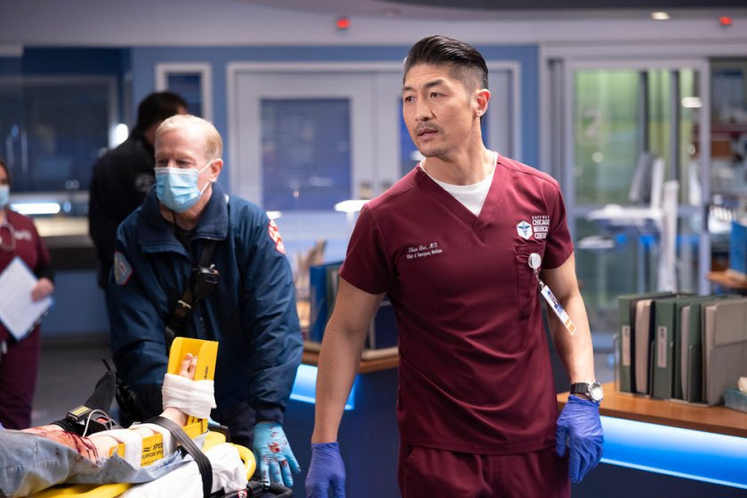 CHICAGO MED -- Episode 613 -- Pictured: Brian Tee as Ethan Choi -- (Photo by: Adrian S Burrows Sr./NBC)