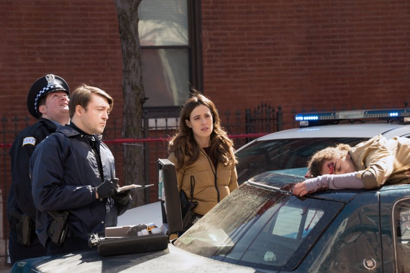 "CHICAGO P.D. -- ""Trouble Dolls"" Episode 813 -- Pictured: Marina Squerciati as Kim Burgess -- (Photo by: Lori Allen/NBC)"