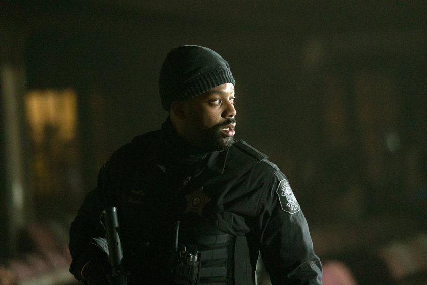 """CHICAGO P.D. -- """"Trouble Dolls"""" Episode 813 -- Pictured: LaRoyce Hawkins as Kevin Atwater -- (Photo by: Lori Allen/NBC)"""