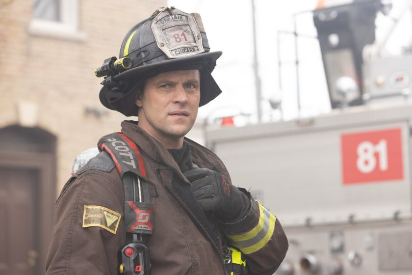 """CHICAGO FIRE -- """"What Comes Next"""" Episode 914 -- Pictured: Jesse Spencer as Matthew Casey -- (Photo by: Adrian S. Burrows Sr./NBC)"""