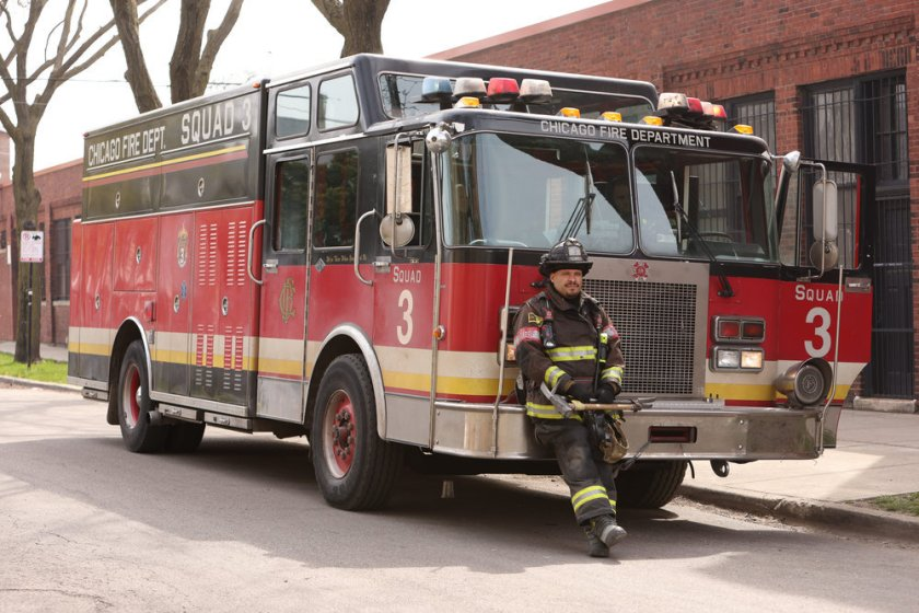 "CHICAGO FIRE -- ""What Comes Next"" Episode 914 -- Pictured: Joe Minoso as Joe Cruz -- (Photo by: Adrian S. Burrows Sr./NBC)"
