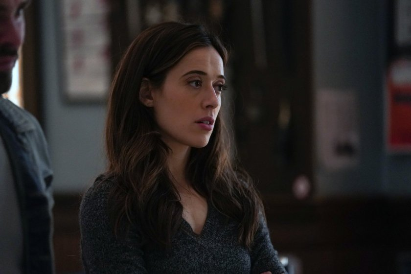 """CHICAGO P.D. -- """"The Right Thing"""" Episode 815 -- Pictured: Marina Squerciati as Kim Burgess -- (Photo by: Lori Allen/NBC)"""