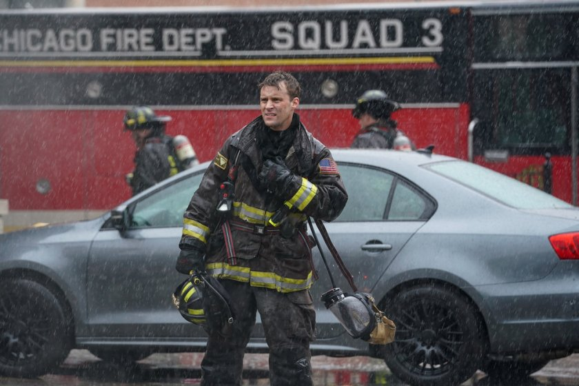 """CHICAGO FIRE -- """"A White Knuckle Panic"""" Episode 915 -- Pictured: Jesse Spencer as Matthew Casey  -- (Photo by: Lori Allen/NBC)"""