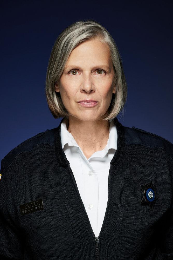 CHICAGO P.D. -- Season: 9 -- Pictured: Amy Morton as Sgt. Trudy Platt -- (Photo by: Art Streiber/NBC)
