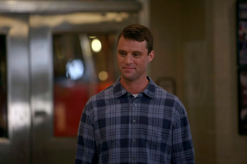 """CHICAGO FIRE -- """"The Right Thing"""" Episode 1004 -- Pictured: Jesse Spencer as Matthew Casey -- (Photo by: Adrian S. Burrows Sr./NBC)"""