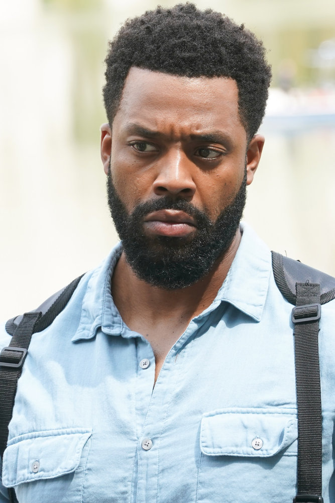 """CHICAGO P.D. -- """"In The Dark"""" Episode 904 -- Pictured: LaRoyce Hawkins as Kevin Atwater -- (Photo by: Lori Allen/NBC)"""