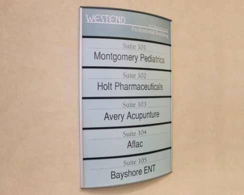 Building Directory Signs