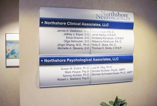 Office Building Directory Signs