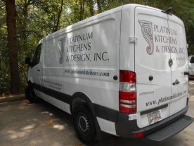 contractor vehicle graphics in Arlington Heights IL