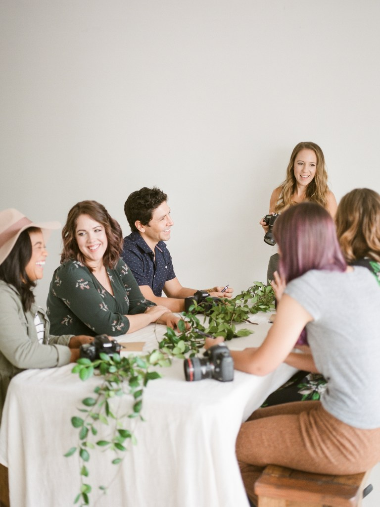Leading a small group workshop