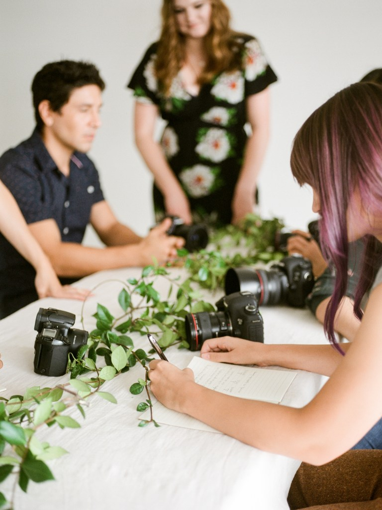 Rooted workshop brand photos