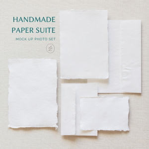 simple paper suite mock up