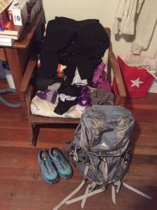 Gear for my Camino.