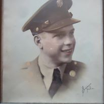 Frank Edward Brooks Army Air Corps 1942