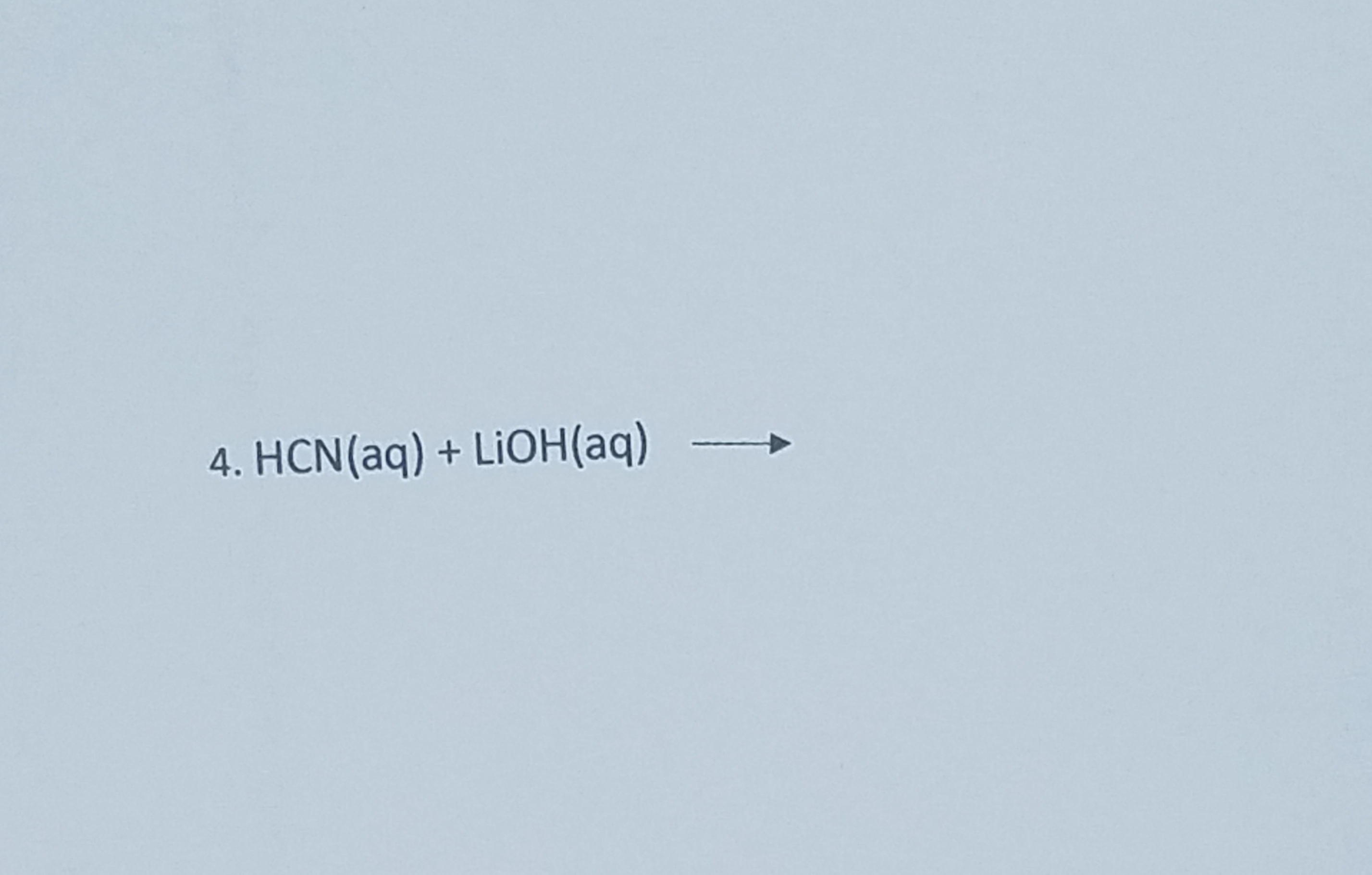 Write The Complete Ionic And Net Ionic Equation For The