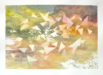 Postcard 4 - Watercolour on paper - 19x14cm - 2015