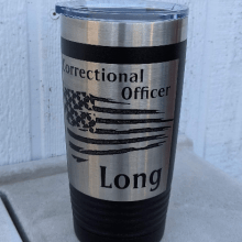correctional office tumbler