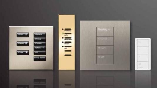 lutron lighting control keypads