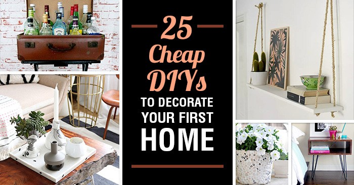 Cheap Ways Decorate Your Home