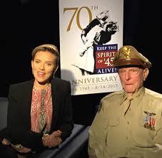 Keep the Spirit of '45 alive with Captain Jerry Yellin & Scarlett Johansson