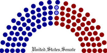 Breakdown of political party representation in...