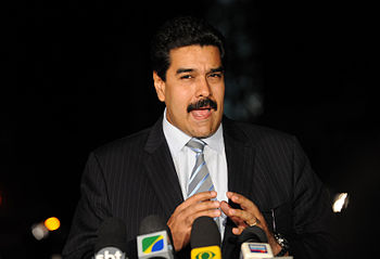 Português: Brasília - O chanceler da Venezuela...