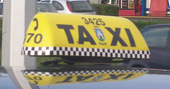 Sign Taxi Zagreb, Croatia