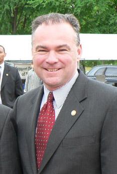 Governor Tim Kaine of Virginia.